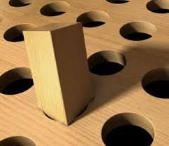 Fejlcasting - mismatch runde huller firkantet stolpe